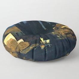 Island Of The Dead - Arnold Bocklin Floor Pillow