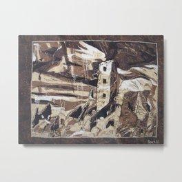 Quilted Joy Metal Print