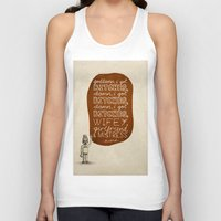 kendrick lamar Tank Tops featuring Kendrick Lamar; What Rappers Say Series 7/8 by Jaron Lionel