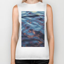 Sunset Reflection Biker Tank