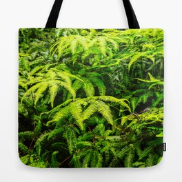 Ferns of the Rainforest Tote Bag