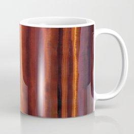 Wildfire Watercolor Stripe Coffee Mug