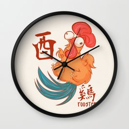 Year of the Rooster Wall Clock
