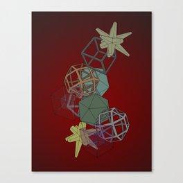 Geo Platonicus Canvas Print