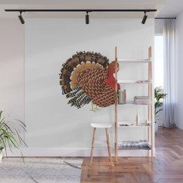 Cartoon turkey Wall Mural