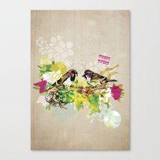 Tweet Tweet Canvas Print