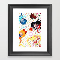 Sailor Bubbahs Framed Art Print