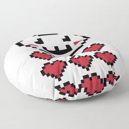 9 Lives Cat Gamer Design Floor Pillow