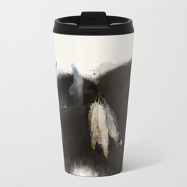 native buffalo Metal Travel Mug
