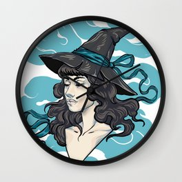 Witchy Mist Wall Clock