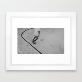 skateboard 2 Framed Art Print