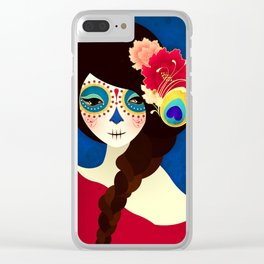 Muertita ~ Candy Clear iPhone Case