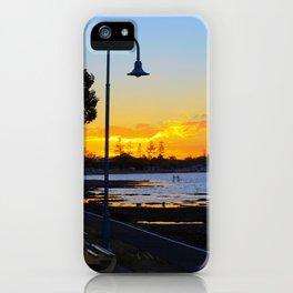 Wynnum Sunset iPhone Case