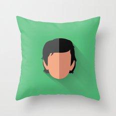 Dameron Poe Flat Design Throw Pillow