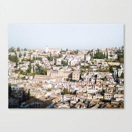 The Albaycin Canvas Print