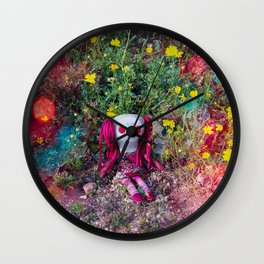 Molly's PlayGround Wall Clock