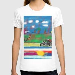 The motorized animals T-shirt