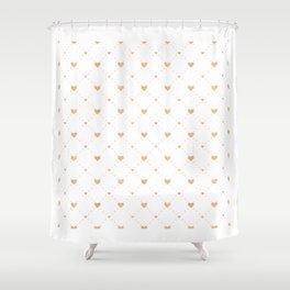 Valentine's Day Pattern | Love Heart Relationship Shower Curtain