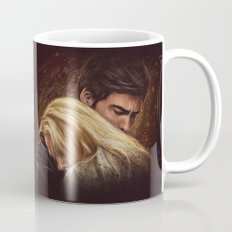 Don't Get Too Close, It's Dark Inside Mug