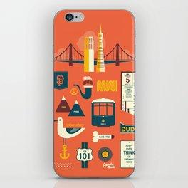 Sanfrancisco iPhone Skin