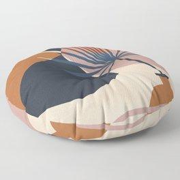 Abstract Vase Floor Pillow
