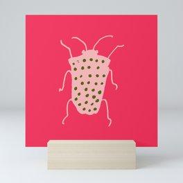 Arthropods hot pink Mini Art Print