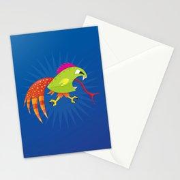 Punk Ass Chicken Runner. Stationery Cards