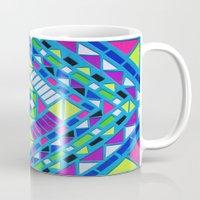 native Mugs featuring Native by Erin Jordan