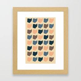 Buckeye State Framed Art Print