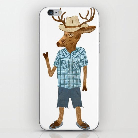 Country deer iPhone & iPod Skin