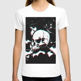 Drawing Skull Glitch T-shirt