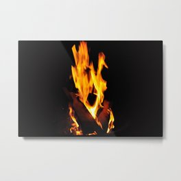 Screaming Fire Metal Print