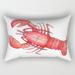 Lobster: Fish of Portugal Rectangular Pillow