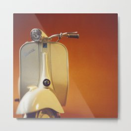 Hot Vespa Metal Print