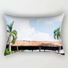 Rusted Roof Rectangular Pillow