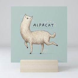 Alpacat Mini Art Print