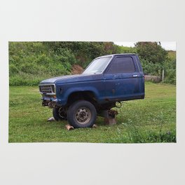 Half a Truck Rug