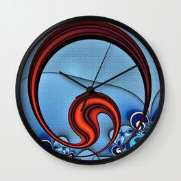 Woven Circlet Wall Clock