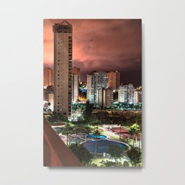 night colours Metal Print
