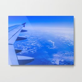 Airplane Ride Metal Print