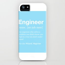 Engineer iPhone Case