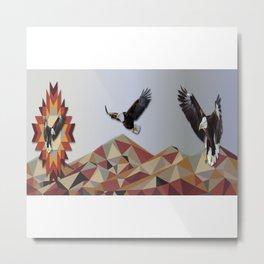Eagle Mountains Metal Print