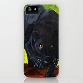 Black Panter Collection iPhone Case