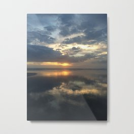 Muriwai Sunset Metal Print