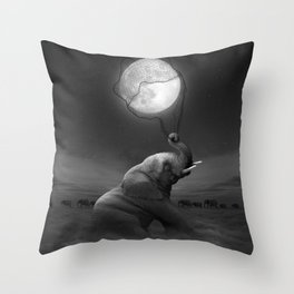 Bringing Light to the Darkness Throw Pillow