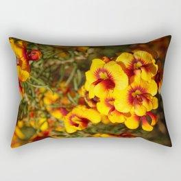Parrot Pea Rectangular Pillow