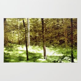 Forest Through the Trees Rug