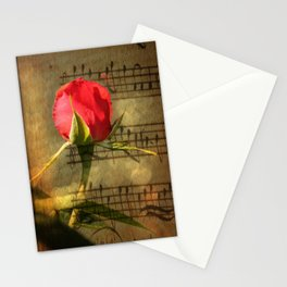 Vintage Love Story Symphony Stationery Cards