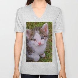 Extraordinary animals-Kitten Unisex V-Neck