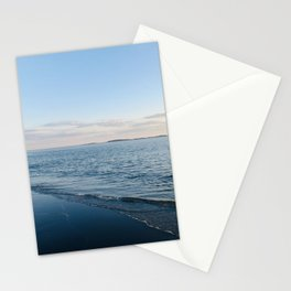 Maine beach 1 Stationery Cards